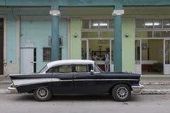 Cuba, Cardenas, Oldtimer Stock Images