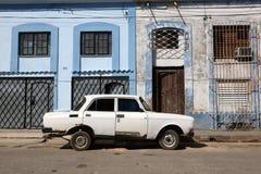 Cuba, Cardenas, Oldtimer Royalty Free Stock Photos