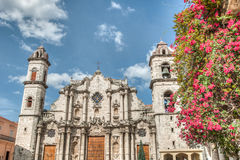 Cuba Caribbean Plaza Vieja Royalty Free Stock Photography