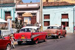 Cuba cars Royalty Free Stock Images