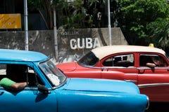 Cuba cars Royalty Free Stock Photo