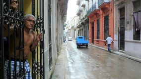 Cuba, città del centro di Avana immagini stock