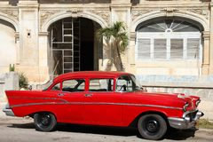 Cuba classic car Royalty Free Stock Photography
