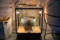 Cuba de cobre velha no museu Fotografia de Stock Royalty Free