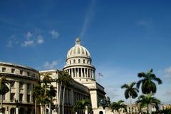 Cuba de construção de capital Fotos de Stock