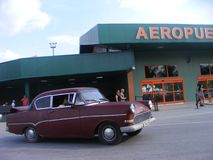 Cuba in de Lente Cubaanse Toevlucht stock fotografie