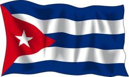 cuba flagę ilustracji