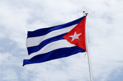 Cuba flag Stock Photo