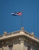 cuba flagę Fotografia Stock