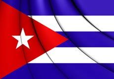cuba flagę Zdjęcie Stock