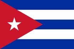 cuba flagę Obraz Stock