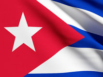 Cuba flag Royalty Free Stock Image