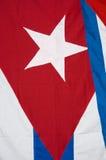 Cuba Flag Detail Stock Images