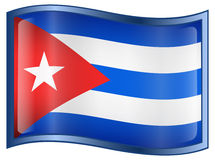 Cuba Flag Icon Royalty Free Stock Images