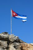 Cuba flag Royalty Free Stock Photo