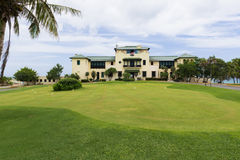 Cuba Golf Club House with golf course view in Varadero Royalty Free Stock Image