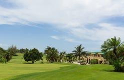 Cuba Golf course in Varadero Stock Photos