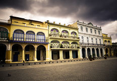 Cuba.Havana, central square Royalty Free Stock Image