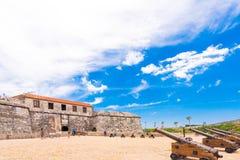 CUBA, HAVANA - MAY 5, 2017: View of Castillo de la Real Fuerza. Copy space for text. Stock Image