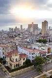 cuba Havana velho Vista superior Prospeto dos presidentes Imagens de Stock Royalty Free