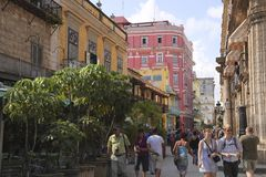 Cuba houses Stock Photos