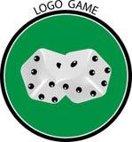 Cuba il logo del gioco Fotografia Stock Libera da Diritti