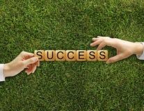 Cuba il successo delle parole incrociate Immagine Stock