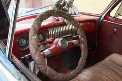 Cuba, Interior of an oldtimer Royalty Free Stock Photography