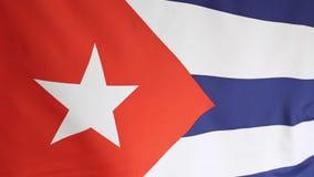 cuba krajowe flagi zdjęcie wideo