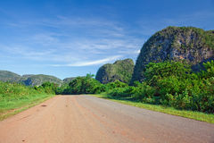 Cuba lanscape Royalty Free Stock Images