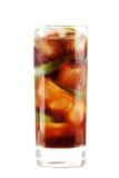 Cuba libre alcohol cocktail Stock Photos