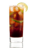 Cuba Libre Alcohol Cocktail Royalty Free Stock Image
