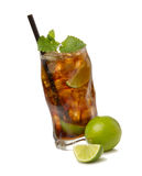 Cuba libre cocktail Royalty Free Stock Images