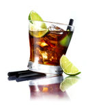 Cuba Libre Cocktail Royalty Free Stock Photo