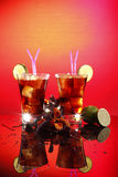 Cuba libre or cola Royalty Free Stock Image