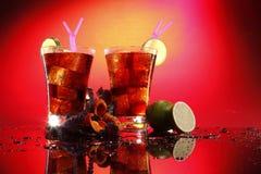 Cuba libre or cola Stock Image