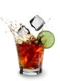 Cuba libre drink Stock Images