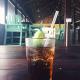 Cuba Libre. Rum and Coke Stock Images