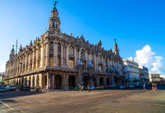 Cuba national theater in Havana. City Royalty Free Stock Images
