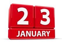 Cuba o 23 de janeiro Foto de Stock