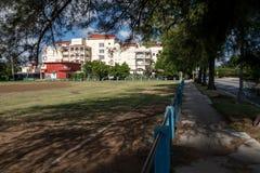 Cuba - October 2016. School Building in Havana Cuba in October, 2016 Stock Image