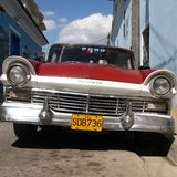 Cuba old car Royalty Free Stock Photo