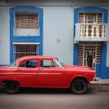 Cuba old car Stock Photos