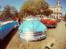 Cuba Old Car Stock Images