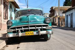 Cuba old car Royalty Free Stock Photography