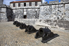 Cuba. Old Havana. Castillo de la Real Fuerza Royalty Free Stock Photography