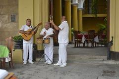 CUBA OLD HAVANA MUSICIANS Stock Photography