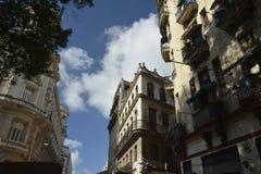 CUBA OLD HAVANA STREET SCENE Royalty Free Stock Photos