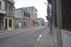 CUBA OLD HAVANA STREET SCENE Stock Photography