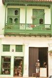 CUBA OLD HAVANA STREET SCENE Royalty Free Stock Photography